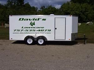 vinyl lettering for enclosed trailer insite lawnsite With vinyl lettering for trailers