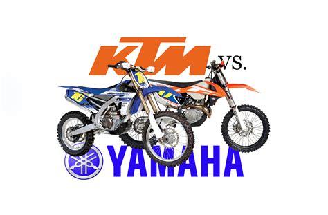 Ktm 450xc-f Vs Yamaha Yz450fx