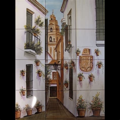 Tile Murals At Spanishplatescom