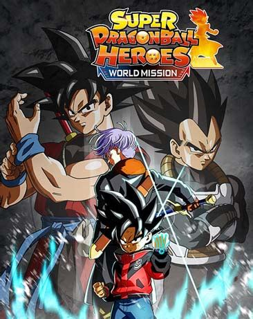 super dragon ball heroes world mission pc game skidrow