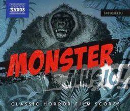 monster  classic horror film scores  cd