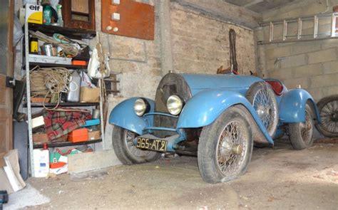 amazing barn finds amazing bugatti barn find