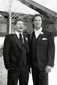 jared padalecki and jensen ackles images Jared's wedding ...