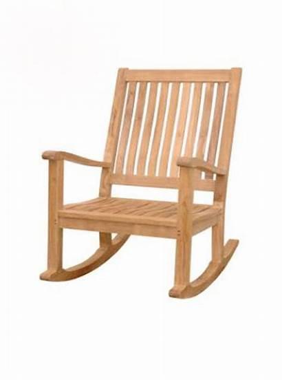 Teak Amo Rocking Chair
