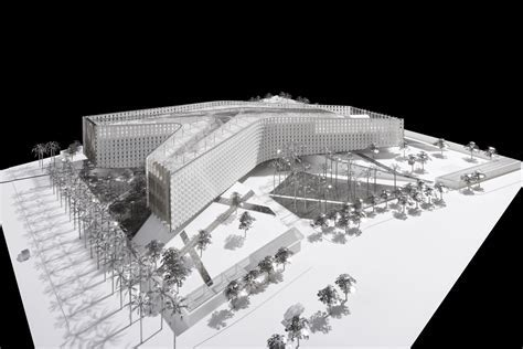 heneghan peng architects   Arabsat Headquarters   Riyadh