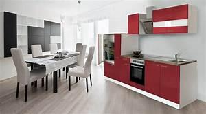 Küche 300 Cm : respekta einbauk che k che k chenzeile 300 cm weiss front ~ A.2002-acura-tl-radio.info Haus und Dekorationen
