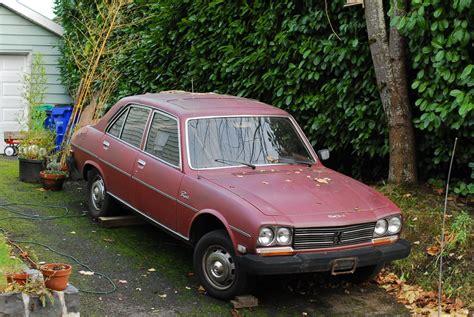 peugeot cars diesel old parked cars 1978 and 1979 peugeot 504 diesel sedans