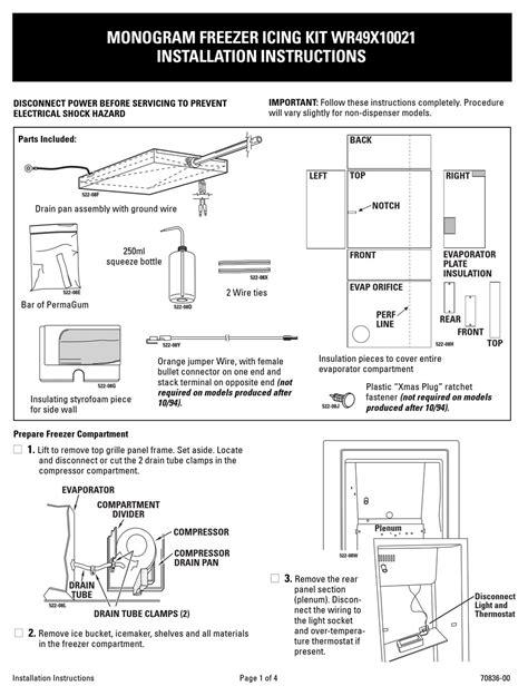 ge wrx installation instructions   manualslib