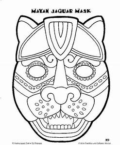 pinterest o the worlds catalogue of ideas With aztec mask template