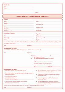 car sale invoice hardhostinfo With invoice of car sale