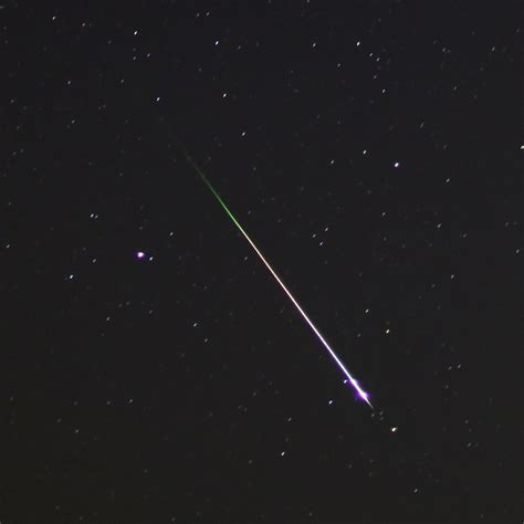 Photographing Meteor Showers - how to photograph meteors with a dslr american meteor