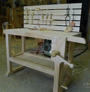 Fabriquer Un établi : un petit tabli par toutenbois sur l 39 air du bois ~ Melissatoandfro.com Idées de Décoration