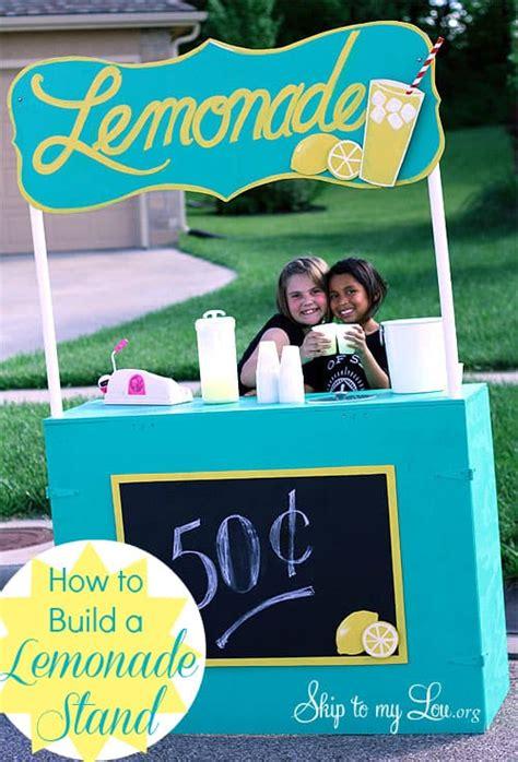 build   lemonade stand
