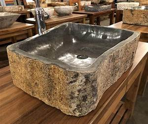 Andesite, Natural, Stone, Vessel, Sink, Extra, Large, 9, At, Impact, Imports