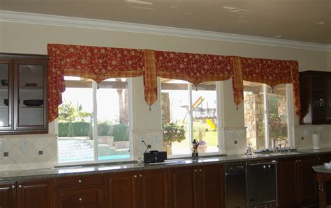 Tuscan style kitchen curtains     Kitchen ideas