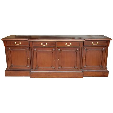 Breakfront Sideboard by Antique Sideboard With Breakfront