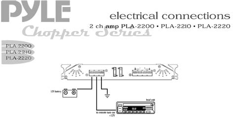 pyle pla2200 2 channel 1 400 watt bridgeable