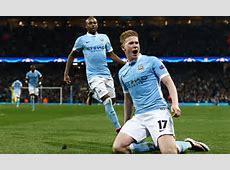 Manchester City 10 Paris Saint Germain agg 32 Kevin