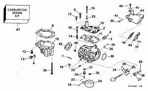 Johnson 1996 15 - Bj15fdledr  Carburetor 9 9 H P