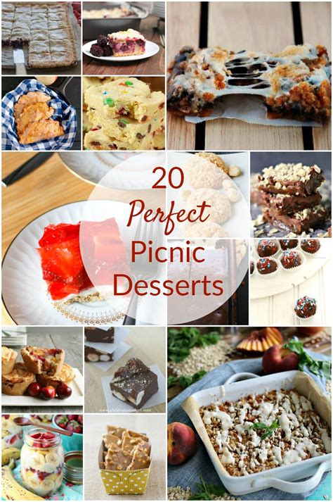 A lovely centrepiece dessert for summer dining, it's made with homemade pastry and crème pâtissière. 20 Perfect Picnic Desserts Round-Up by The Redhead Baker