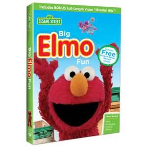 Sesame Street Big Elmo Fun DVD