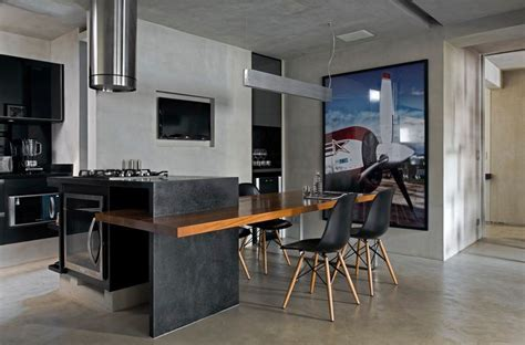 Contemporary Loft Finds The Perfect Balance Between Cool