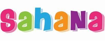 Sahana Friday Logos Textgiraffe
