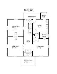house plan a somewhat unique floor plan meadow house