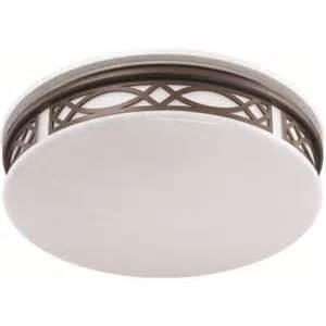 sylvania 3 light flush mount ceiling bronze led indoor