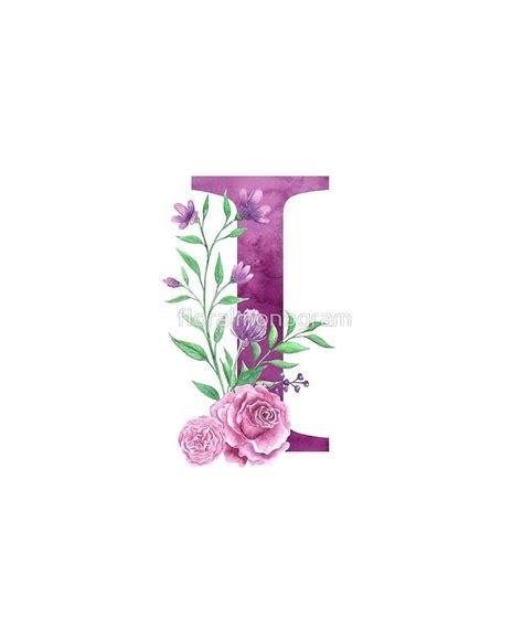 monogram  lovely rose bouquet  floralmonogram floral letters flower letters monogram