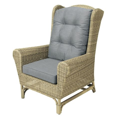 fauteuil bergere maison du monde fauteuil berg 232 re de jardin en r 233 sine tress 233 e rapha 235 l maisons du monde