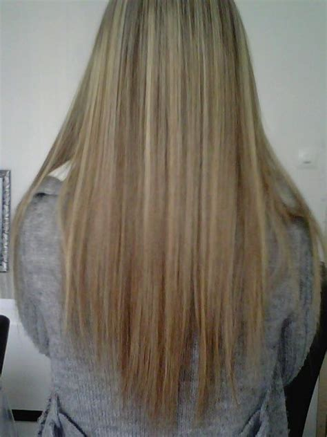 les cheveux long de dos degrade coiffure hair cuts