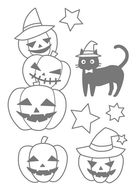 kawaii halloween coloring pages nurie kawaii