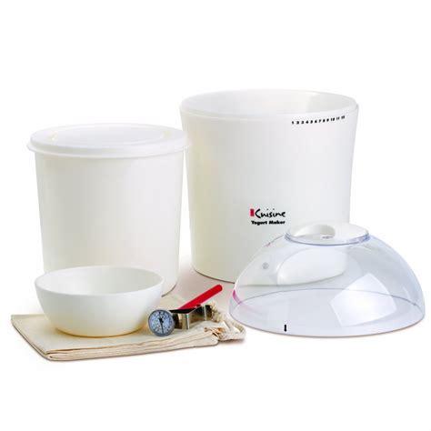 yogurt makers euro cuisine 2 quart yogurt maker ym260