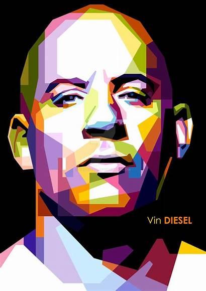 Wpap Diesel Vin Pop Google Portrait Portraits