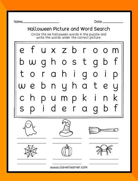 halloween theme printables  preschool