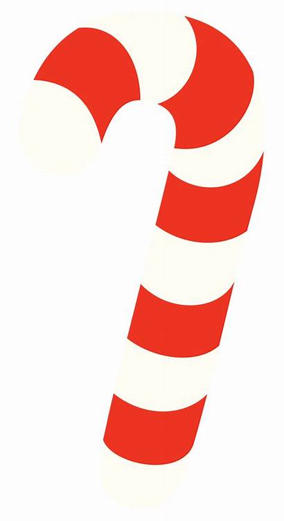 Cane Candy Clip Clipart Christmas Transparent Divider