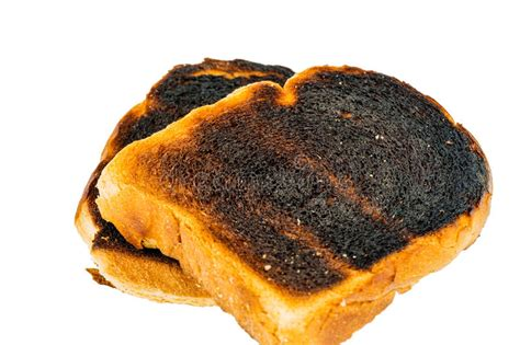 Burned Toast Bread Slices Stock Photo. Image Of Bread