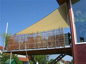 sonnensegel balkon balkonbeschattung mit sonnensegel With feuerstelle garten mit sonnensegel befestigung balkon ohne bohren