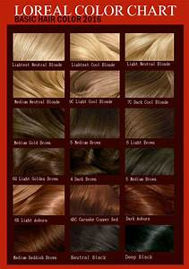 Images For Gt Hair Color Chart With Names Of 22 Popular ...