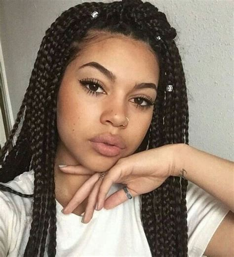 ideas  box braids  pinterest box braids