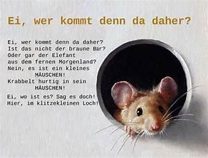 Maus Im Haus : maus reim gedicht kindergarten erzieher erzieherin ~ A.2002-acura-tl-radio.info Haus und Dekorationen