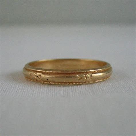 15 photo of antique men s wedding bands