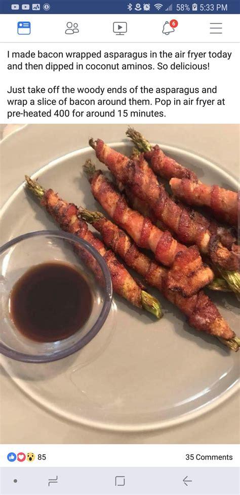 bacon fryer air asparagus wrapped recipes discover keto cook