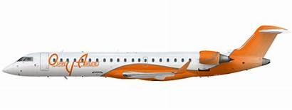 Osprey Airlines Crj Airline Empires Oct Uploaded