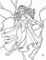 Coloring Pages Storm Polaris Superhero Deviantart Printable Heros Jamiefayx Print Getcolorings sketch template