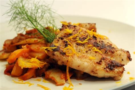grouper fennel braised tomato cook recipes way table sea sauce ways