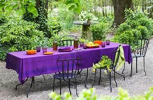 Nappe Pour Table : la teinture pour relooker vos tissus maison aux couleurs de l 39 ann e ~ Teatrodelosmanantiales.com Idées de Décoration