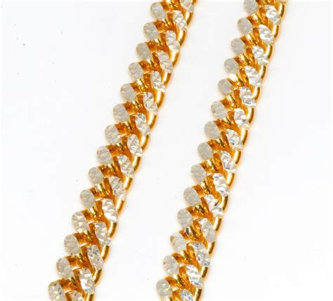 sterling silver  solid miami cuban curb link chain full