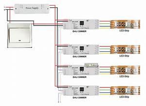 0-10v Led Dimmer Switch With 0-100dimming